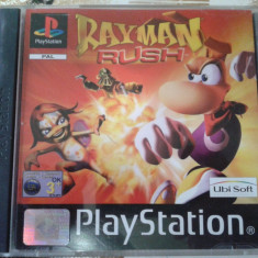 Vand jocuri ps1 colectie, RAYMAN RUSH, playstation 1 - Joc PS1 Ubisoft, Single player, Toate varstele