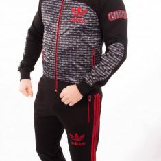 Trening Adidas Barbati allcourt rosu Primavara. Model NOU 2017 - Trening barbati, Marime: S, M, L, XL, XXL, Bumbac