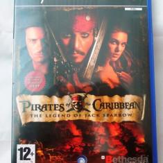 Pirates of the Caribbean The Legend of Jack Sparrow, PS2, alte sute de jocuri! - Jocuri PS2 Ubisoft, Actiune, 12+, Single player