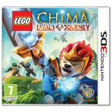 LEGO Legends Of Chima Lavals Journey 3DS, Actiune, 12+