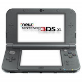 Consola Nintendo New 3DS XL negru metalic
