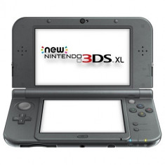 Consola Nintendo New 3DS XL negru metalic, Nintendo 3DS XL