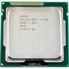 Procesor INTEL Quad Core i5 2400 3.1Ghz/Turbo 3.4Ghz, Sandy Bridge, sk 1155 - Procesor PC Intel, Intel Core i5, Numar nuclee: 4, Peste 3.0 GHz