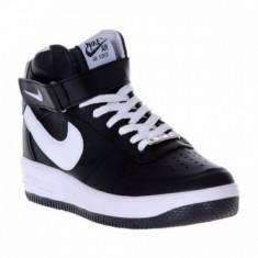 Bocanci Nike aAIR FORCE NA - Bocanci barbati, Marime: 43, Culoare: Negru, Piele sintetica