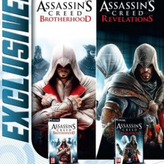 Assassins Creed Revelations & Assassins Creed Brotherhood PC - Joc PC Ubisoft, Role playing, 18+, Single player