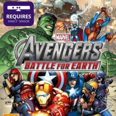 Marvel's Avengers Battle For Earth Kinect XB360, Actiune, 12+