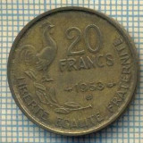9132 MONEDA- FRANTA - 20 FRANCS -anul 1953 B - starea ce se vede, Europa
