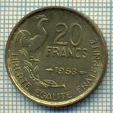 9125 MONEDA- FRANTA - 20 FRANCS -anul 1953 - starea ce se vede, Europa