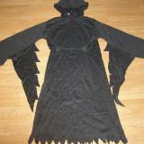 Costum carnaval serbare vrajitor pentru copii de 10-11-12 ani - Costum Halloween, Marime: Masura unica, Culoare: Din imagine