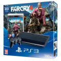 Consola PlayStation 3 Super Slim 500 GB + Far Cry 4