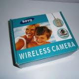 Camera wireless SOYO, cu receiver, noua!