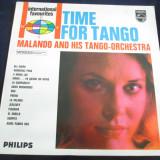 Malando and His Tango Orchestra - Time For Tango _ vinyl,LP,Phillips (Olanda)