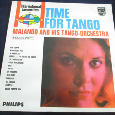 Malando and His Tango Orchestra - Time For Tango _ vinyl, LP, Phillips (Olanda) - Muzica Latino Altele, VINIL
