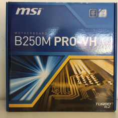 Placa de baza MSI B250M PRO-VH, Pentru INTEL, Socket: 1155