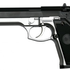 Replica STTi gas M92F Black/Stainless ''NEW'' arma airsoft pusca pistol aer comprimat sniper shotgun