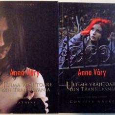 ULTIMA VRAJITOARE DIN TRANSILVANIA de ANNA VARY, VOL I-II - Roman