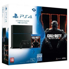 Consola PlayStation 4 Sony Ultimate Player Edition 1TB + joc Call of Duty Black OPS 3