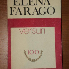 VERSURI de ELENA FARAGO, 1978 - Roman