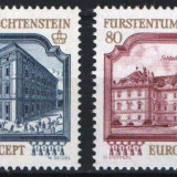 Europa-cept 1978 - Lichtenstein 2v.neuzat,perfecta stare(z), Nestampilat