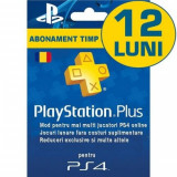 PlayStation Plus Membership (365 zile) RO PS3 / PS4 / PS Vita