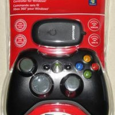 Controller Xbox 360 + PC Wireless Black