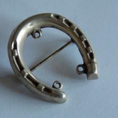 Brosa de argint -potcoava -1250 - Brosa argint