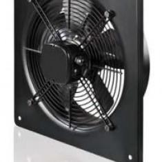 VENTILATOR AXIAL, EVACUARE, DE PERETE, PATRAT, 312X312 MM, DIAM 200 MM, 860 MC/H - Ventilator baie