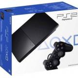 Consola PlayStation 2 Sony Slim Black