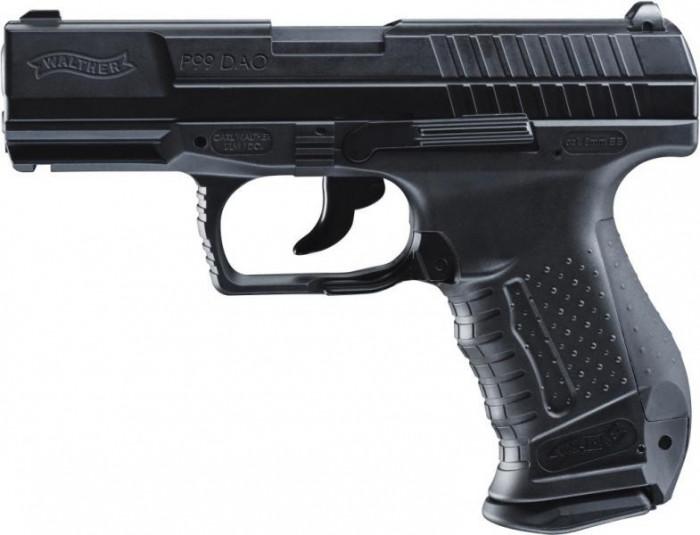 Walther P99 DAO CO2 arma airsoft pusca pistol aer comprimat sniper shotgun foto mare