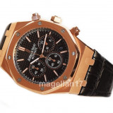 Royal Oak Chronograph ! ! ! Calitate Premium ! - Ceas barbatesc, Lux - sport, Quartz, Inox, Piele, Cronograf