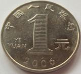 Moneda 1 Yi Yuan - CHINA, anul 2006 *cod 4136, Asia