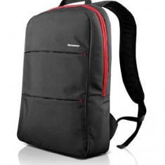 Rucsac laptop 15.6 inch, buzunare multiple, Simple Backpack, Lenovo, negru