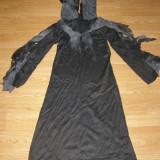 Costum carnaval serbare zombi fantoma pentru copii de 10-11 ani - Costum Halloween, Marime: Masura unica, Culoare: Din imagine