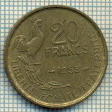9130 MONEDA- FRANTA - 20 FRANCS -anul 1953 - starea ce se vede, Europa