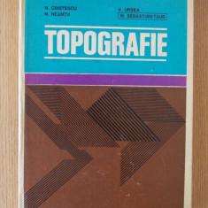 TOPOGRAFIE, pentru subingineri- CRISTESCU, NEAMTU, URSEA, TAUB