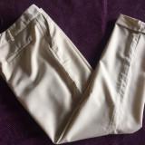 Pantaloni dama KOUTURE, mas. M, Marime: M, Culoare: Bej, Lungi, Vascoza