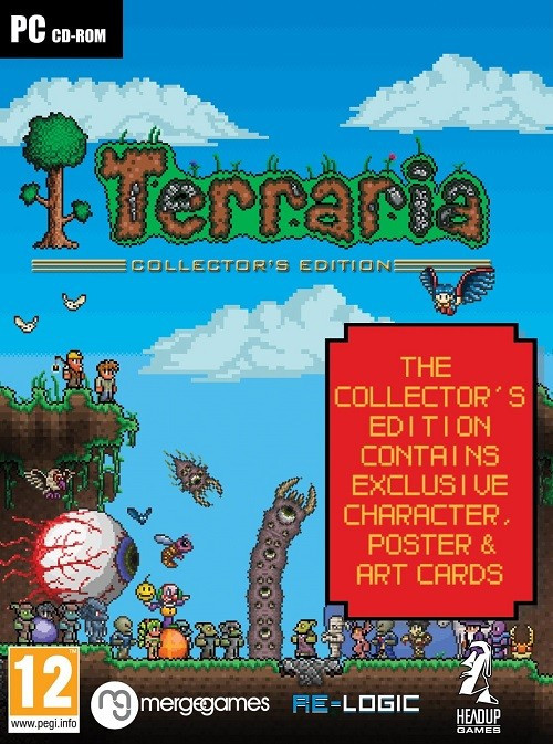 Terraria Collectors Edition PC foto mare