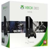 Consola Xbox 360 Microsoft 500GB + joc Call of Duty Ghost + cod digital joc Call of Duty Black OPS 2