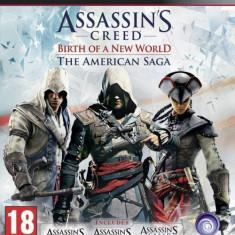 Assassin's Creed The American Saga Collection PS3 - Jocuri PS3, Actiune, 18+
