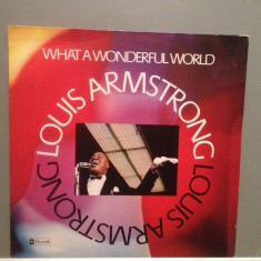 LOUIS ARMSTRONG - WHAT A WONDERFUL...(1976/ABC Rec/RFG) - Vinil/Impecabil (NM) - Muzica Jazz universal records