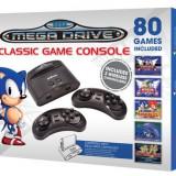 Consola Sega Mega Drive Classic Game + 80 jocuri + 2 controllere