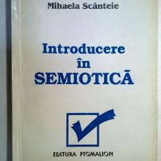 Mihaela Scanteie - Introducere in semiotica