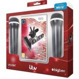 The Voice cu 2 microfoane Wii / Wii U - Jocuri WII U, Simulatoare, 3+