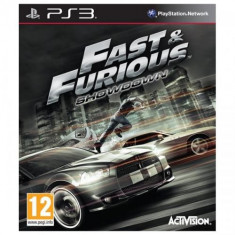 Fast and Furious - Showdown PS3