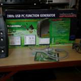 Generator de functii Velleman PCGU1000