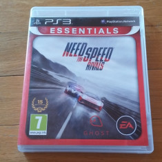 PS3 Need for speed rivals Essentials - joc original by WADDER - Jocuri PS3 Electronic Arts, Curse auto-moto, 3+, Single player