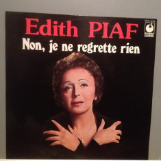 EDITH PIAF - NON, JE NE REGRETTE RIEN (1971/EMI/RFG) - Vinil/Vinyl/Impecabil (NM) - Muzica Pop emi records