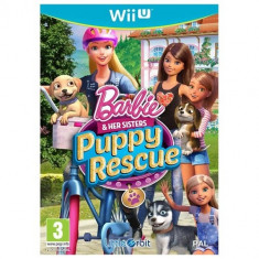 Barbie and Her Sisters: Puppy Rescue Wii U