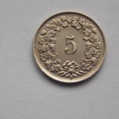 5 RAPPEN 1944 ELVETIA, Europa