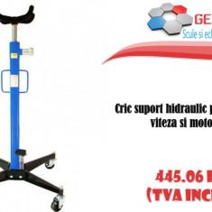 Cric suport hidraulic pentru cutie de viteza si motor 0.5T - Cric hidraulic